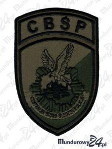 Emblemat CBŚP - multicam