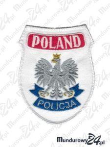 Emblemat POLAND POLICJA