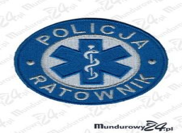 Emblemat Policja Ratownik