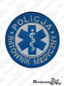 Emblemat Policja Ratownik Medyczny