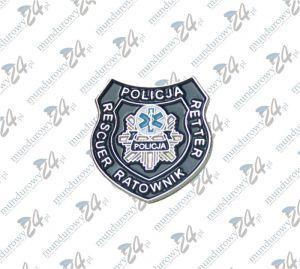 Przypinka POLICJA RATOWNIK