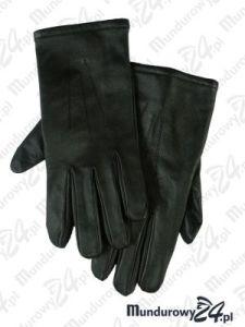 Rękawiczki oficerskie zimowe, rękawiczki skórzane zimowe