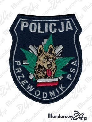 Emblemat Policja Przewodnik Psa wz.3