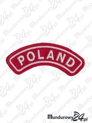 Emblemat POLAND na rękaw