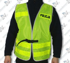 Kamizelka ostrzegawcza letnia POLICJA