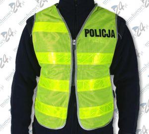 Kamizelka ostrzegawcza motocyklowa POLICJA