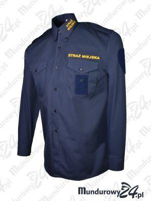 Koszula służbowa STRAŻ MIEJSKA długi rękaw