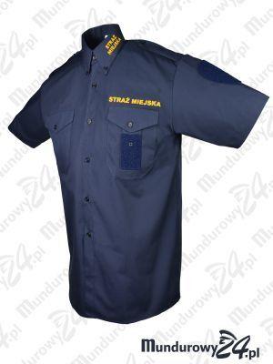 Koszula służbowa STRAŻ MIEJSKA krótki rękaw