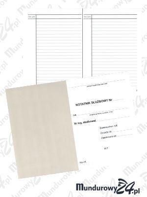 Notatnik służbowy A6, 128 stron, MP-11