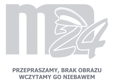 Odznaka haftowana z numerem służbowym STRAŻ MIEJSKA