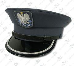 Czapka gabardynowa POLICJA, 1 galon