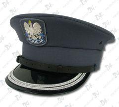 Czapka gabardynowa POLICJA, 2 galony