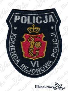 Emblemat KRP Warszawa VI