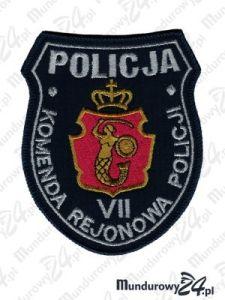 Emblemat KRP Warszawa VII