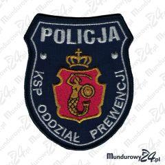 Emblemat KSP Oddział Prewencji