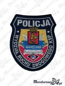 Emblemat KSP Wydział Ruchu Drogowego