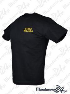 Koszulka t-shirt STRAŻ MIEJSKA - czarny