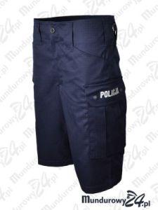 Spodenki krótkie Rip-Stop POLICJA - granatowe