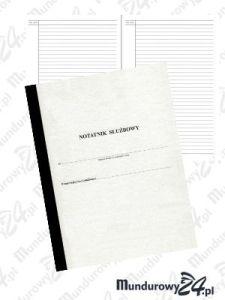 Notatnik służbowy A4, 240 stron, MP-11RD