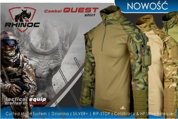 NOWOŚĆ! Rhinoc Combat QUEST Shirt