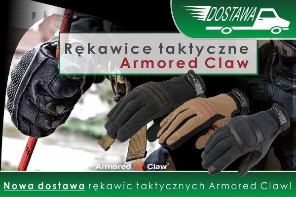 NOWA DOSTAWA rękawic taktycznych Armored Claw! Zapraszamy!