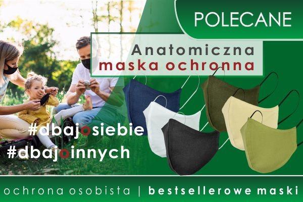 POLECAMY! Bestsellerowe maski ochronne w kolorystyce mundurowej!