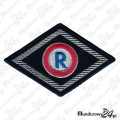Emblemat Romb Służba Prewencyjna Ruchu Drogowego