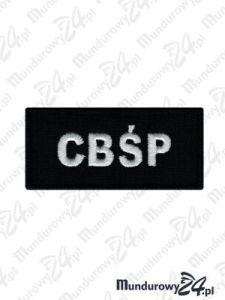 Emblemat CBŚP100x40 - czarny