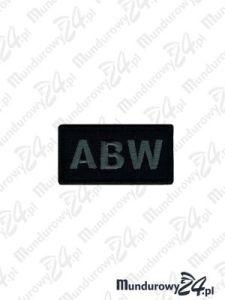 Emblemat ABW 60x30 - pixel