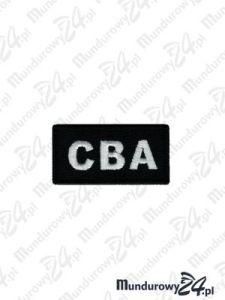 Emblemat CBA 60x30 - czarny