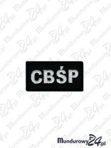 Emblemat CBŚP 60x30 - czarny