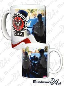 Kubek ceramiczny CBA - wz.2