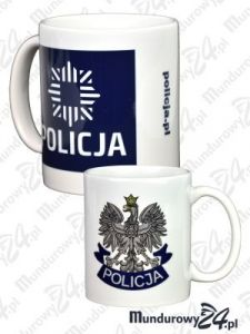 Kubek ceramiczny POLICJA