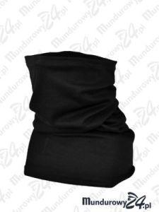 Komin ochronny, bawełniany - wz1, czarny