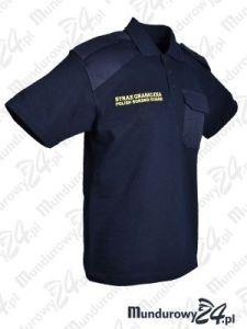 Koszulka polo służbowa STRAŻ GRANICZNA - POLISH BORDER GUARD