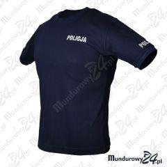 Koszulka t-shirt POLICJA służbowa, rozmiar: L