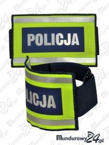 Opaska szybkiego rozpoznania POLICJA, naramienna, odblaskowa