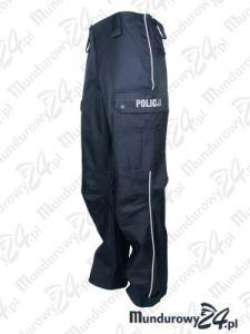 Spodnie służbowe do trzewików (membrana) POLICJA
