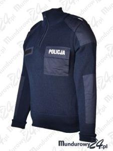 Sweter służbowy POLICJA