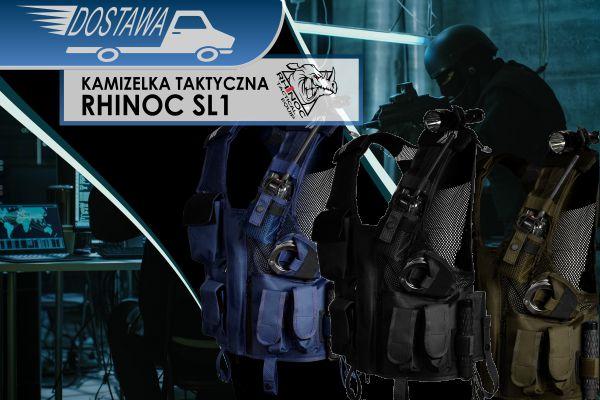 NOWA DOSTAWA Kamizelek tektycznych Rhinoc SL1