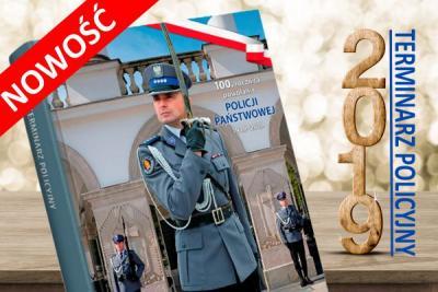 Terminarz policyjny 2019 - kalendarz książkowy