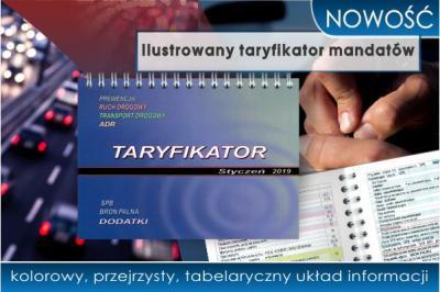 NOWOŚĆ! Ilustrowany taryfikator mandatów