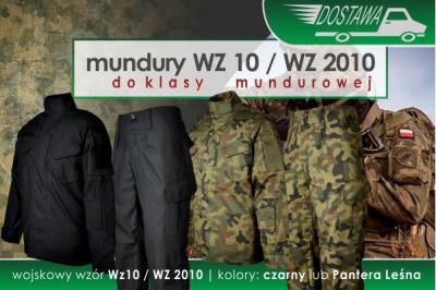 NOWA DOSTAWA mundurów WZ 10 / WZ 2010
