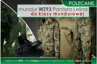 Mundur WZ93 Pantera Leśna do klasy mundurowej