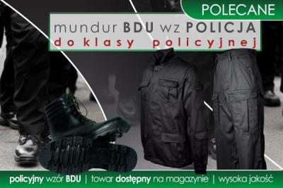 Mundur BDU wz POLICJA dla klasy policyjnej