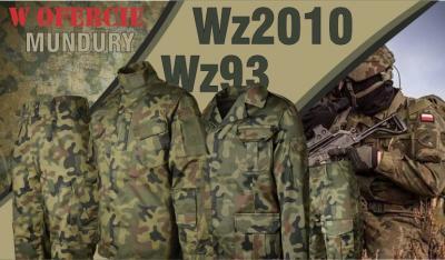 KAMUFLUJEMY! :) Mundury Wz2010 (WZ10) oraz Wz93 w Panterze Leśnej