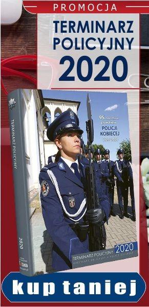 PROMOCJA! Terminarz policyjny 2020