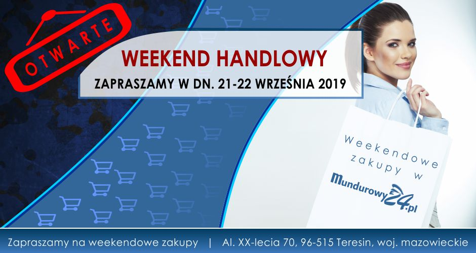 WEEKEND HANDLOWY w Mundurowy24.pl