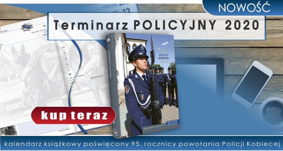 NOWOŚĆ! Terminarz POLICYJNY 2020