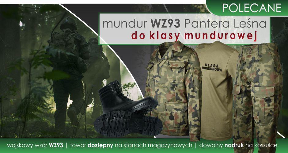 Polecamy mundury WZ93 dla Klas Mundurowych.